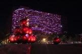 As the Omni finally decorates for the upcoming holiday season, the DPMHS Media team prepares to disembark for the long plane ride home to Los Angeles. Photo by Rachel Bullock