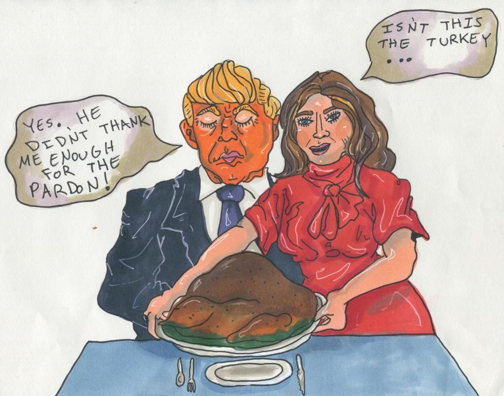 trumps turkey of a pardon2 A turkey of a pardon