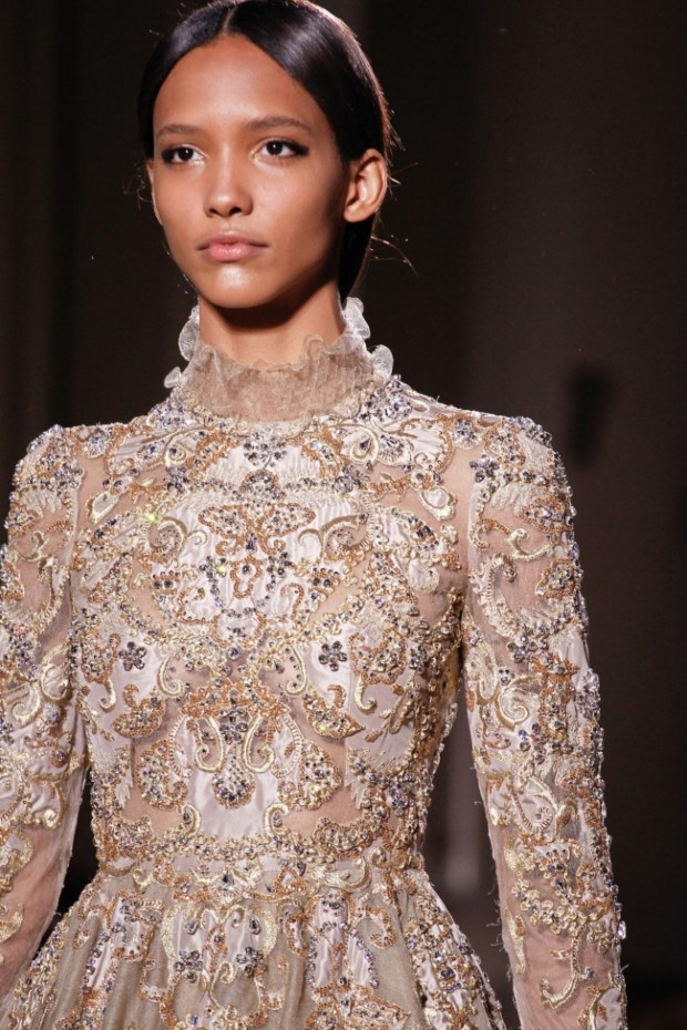 embellishedcouturehr Haute Off The Runway: The hidden craftsmanship of haute couture