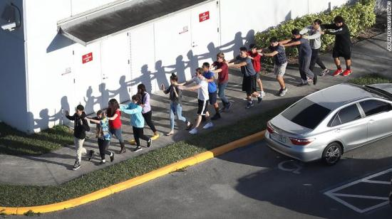 180214174939 16 florida high school shooting 0214 exlarge 169 When will it stop? — Inside Marjory Stoneman Douglas High School during the shooting