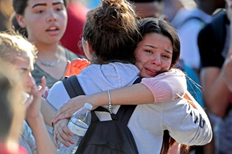 When will it stop? — Inside Marjory Stoneman Douglas High School during the shooting