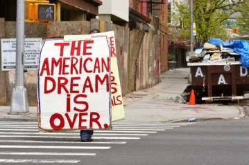 american dream is over Homelessness in Los Angeles