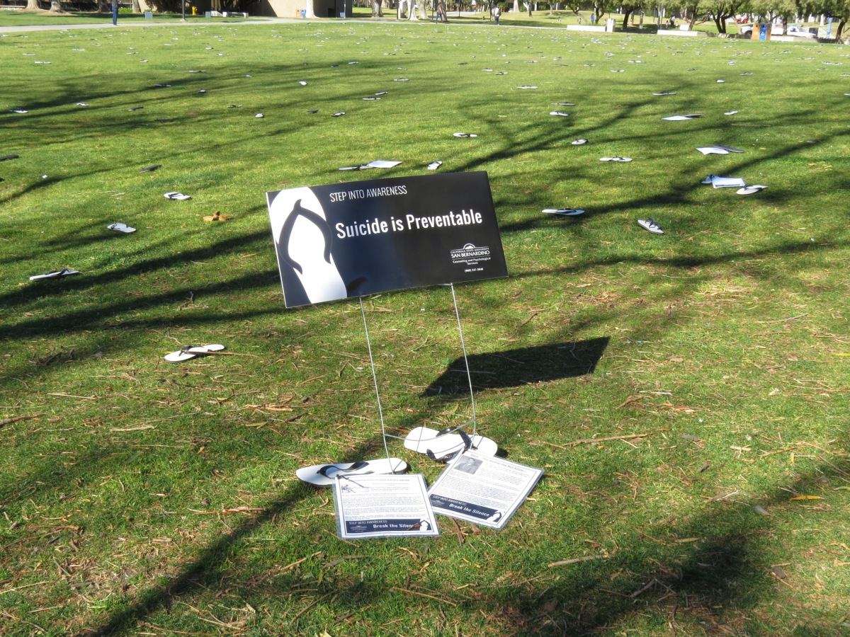 img 9363 Step into Awareness promotes suicide prevention at CSUSB