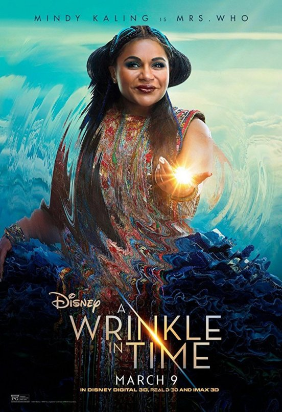 mindy kaling A Wrinkle in Time — A visual and colorful painting