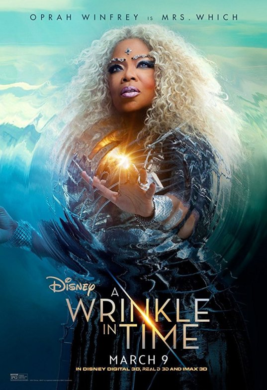 oprah winfrey A Wrinkle in Time — A visual and colorful painting