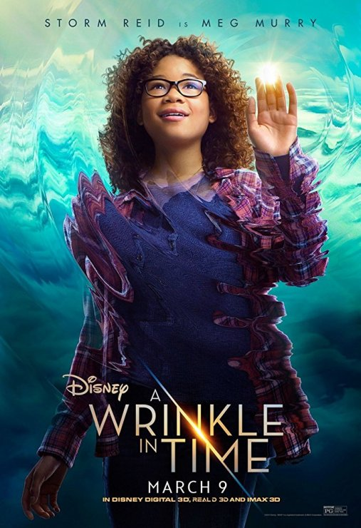 storm reid A Wrinkle in Time — A visual and colorful painting