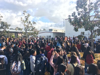 Students Protest Gun Violence in U.S. Schools in a #NationalSchoolWalkout