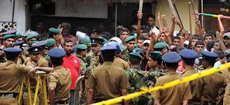 Violence Plagues Sri Lanka