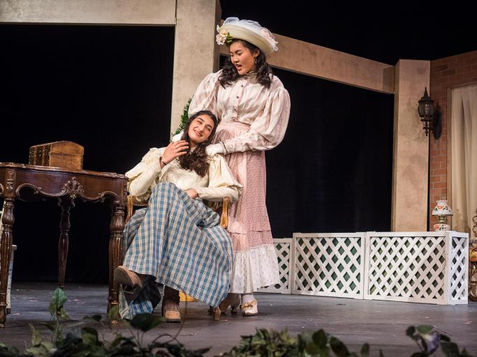earnest pic cecily and gwen page 001 CSArts SGV Presents The Importance of Being Earnest