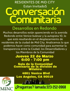 flyer spanish How Im fighting displacement in Mid City