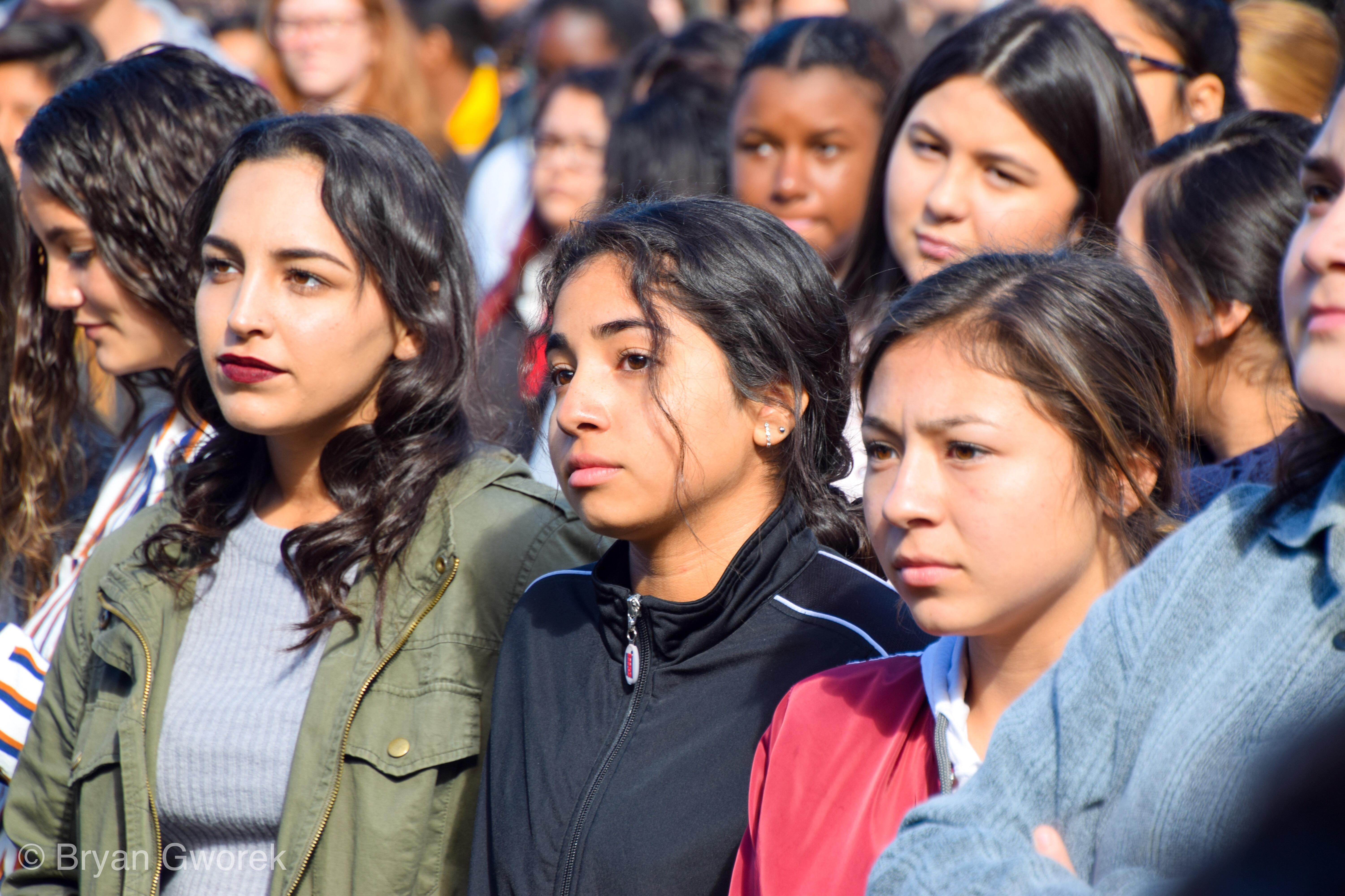 img 9182 Students of John W. North High School join together for #NationalWalkoutDay in support of Parkland shooting and gun violence