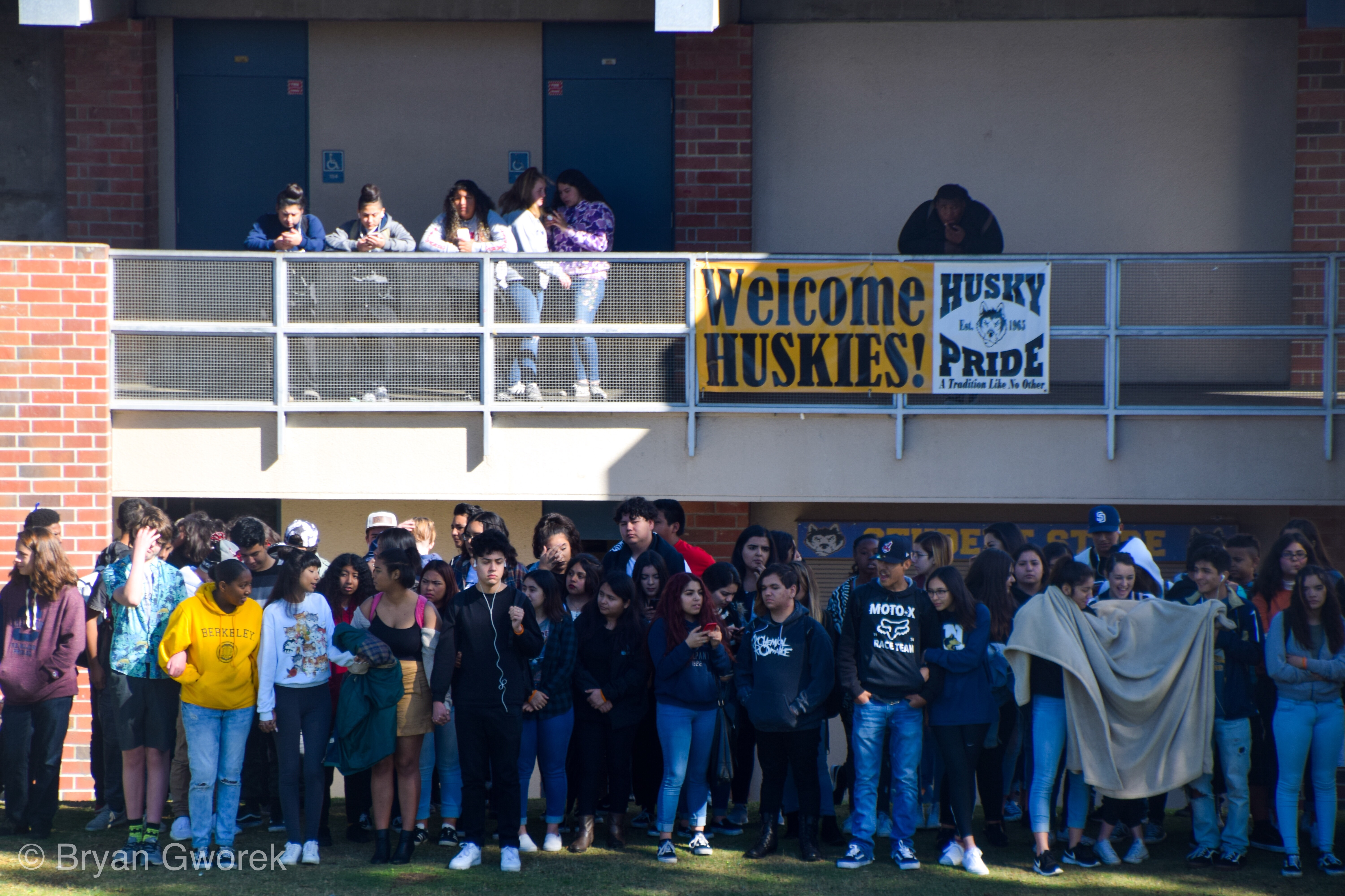 img 9185 Students of John W. North High School join together for #NationalWalkoutDay in support of Parkland shooting and gun violence