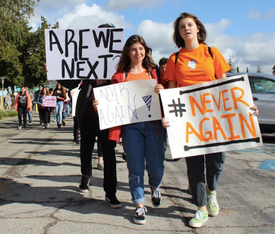 screen shot 2018 03 15 at 10 43 29 am Students Protest Gun Violence in U.S. Schools in a #NationalSchoolWalkout