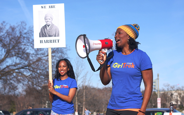 vanessa and morgan weareharriet beginning Thousands of women are walking 100 miles — heres why