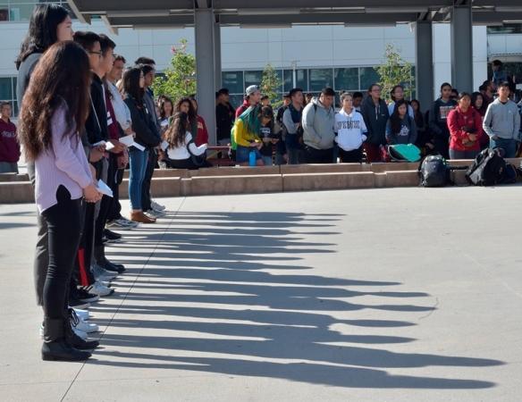 web 17 shadows Arcadia High Schools Walkout