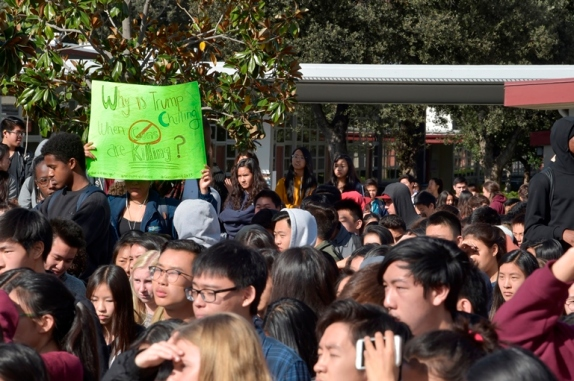 web page one top pic Arcadia High Schools Walkout