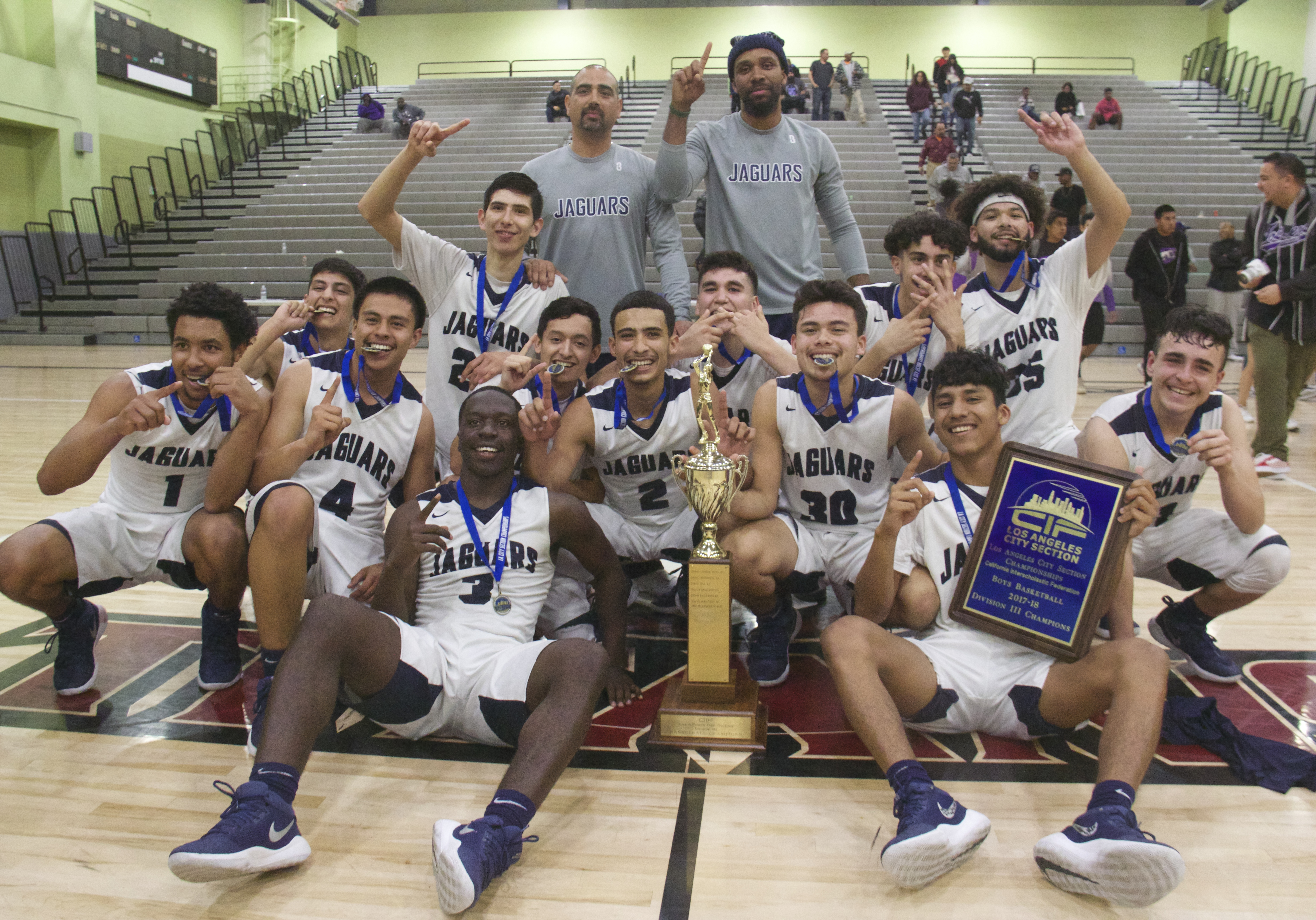 34066c6fa03 South East Boys  Basketball wins Los Angeles City Section Division ...