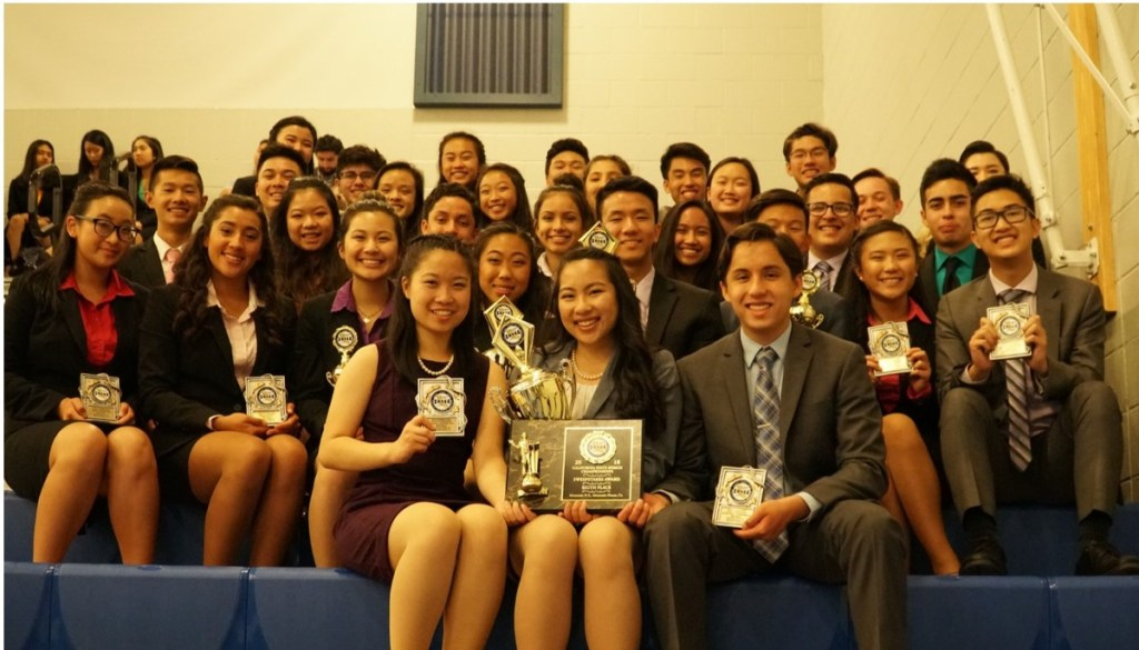 state 2018 team web Leon Tran makes Gabrielino history in Speech and Debate