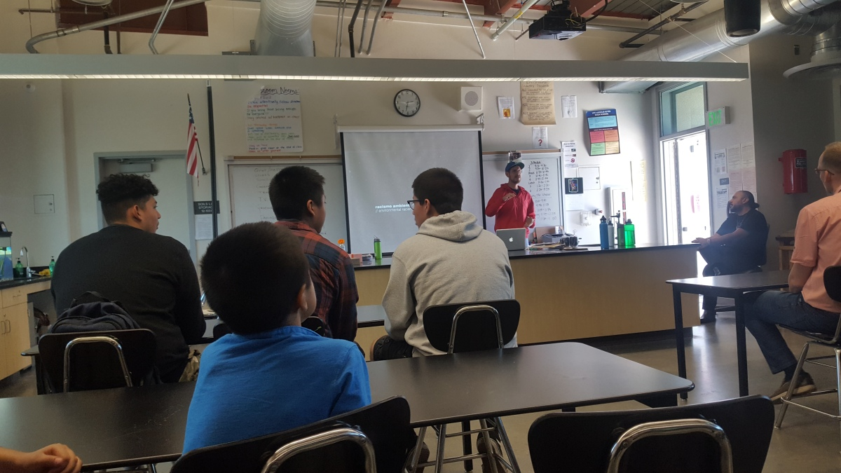 20180428 123217 Environmental Summit comes to LA River School