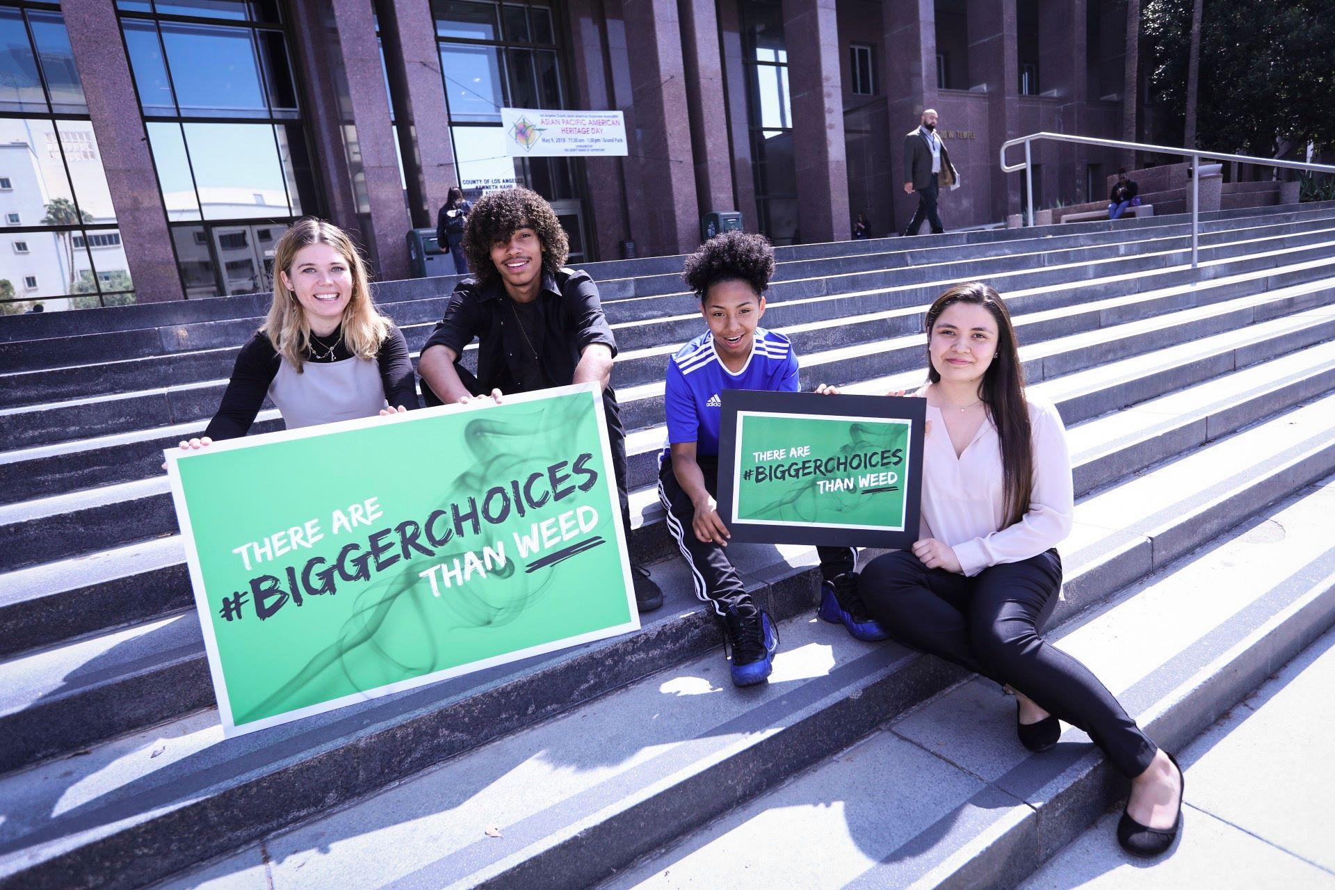 32169424 10156154246263280 1718718145172078592 o #BiggerChoices Campaign: Teens and Marijuana