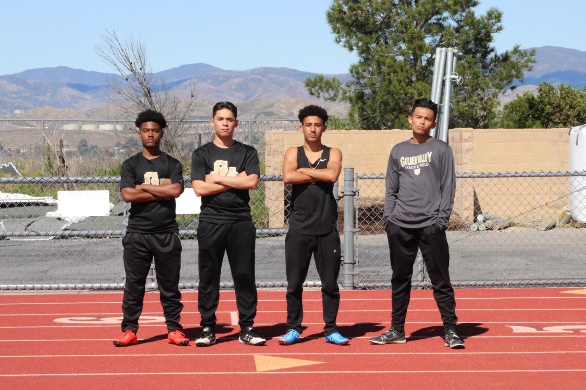 Golden Valley Track Team into prelims