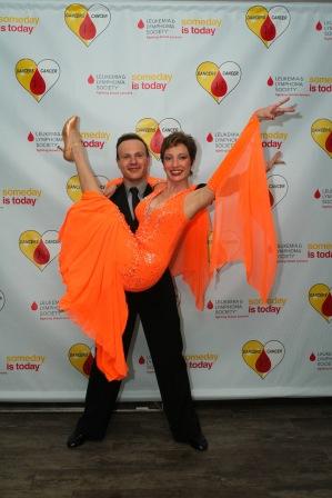A dancer against cancer