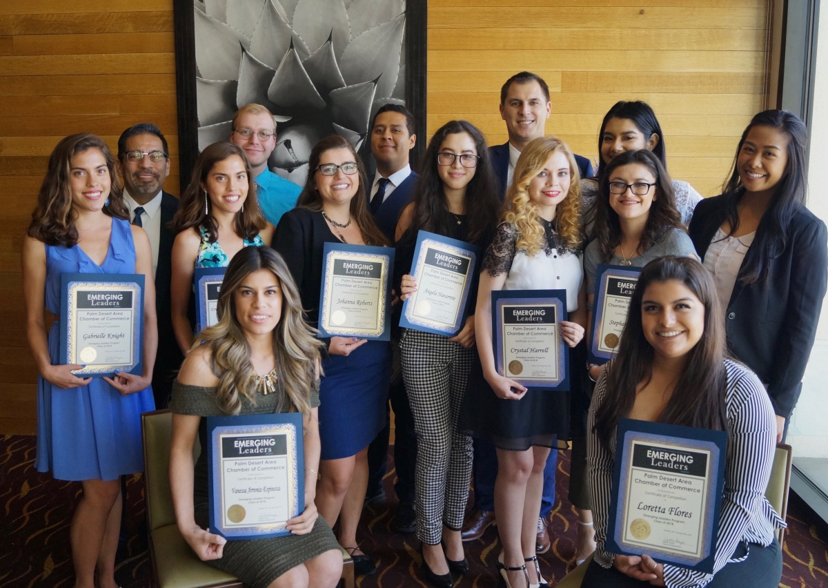 emerging leaders class 2017 2018 2018 Emerging Leaders class graduates in Palm Desert