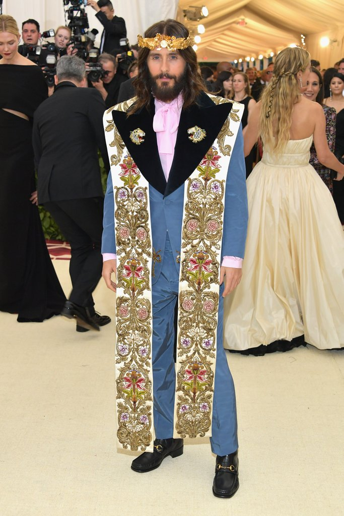 jared leto 2018 met gala And the Theme for the 2018 Met Gala is... Catholicism?