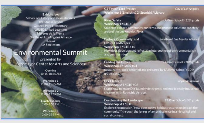 unnamed Environmental Summit comes to LA River School