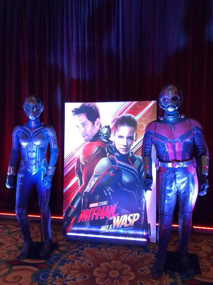 36064575 1723654377718615 2172714609474011136 n Five Times Evangeline Lilly Slayed at the Ant Man And the Wasp Press Conference