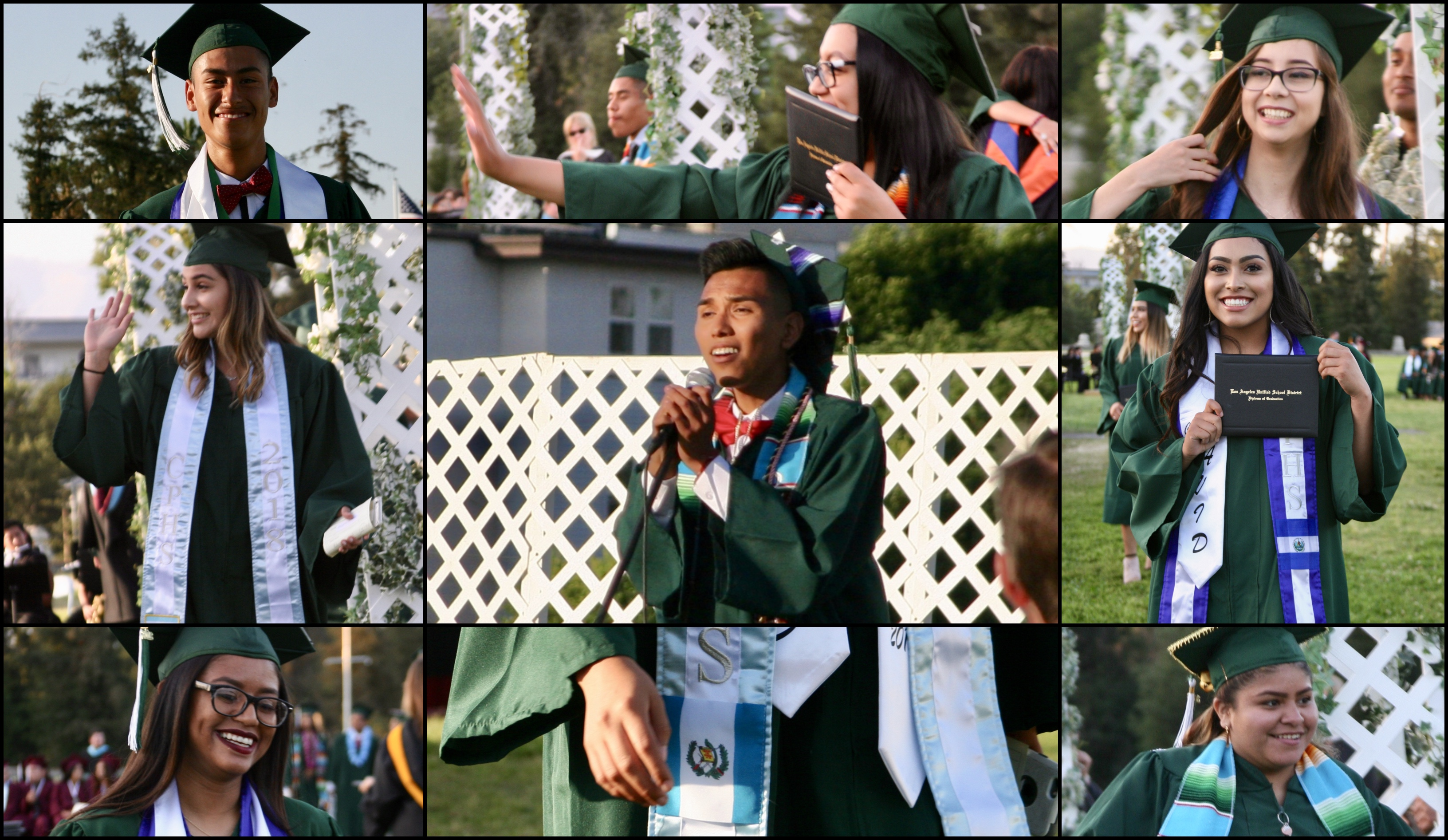 Cultural Sashes One Graduates Project Toward Change One Gallon At