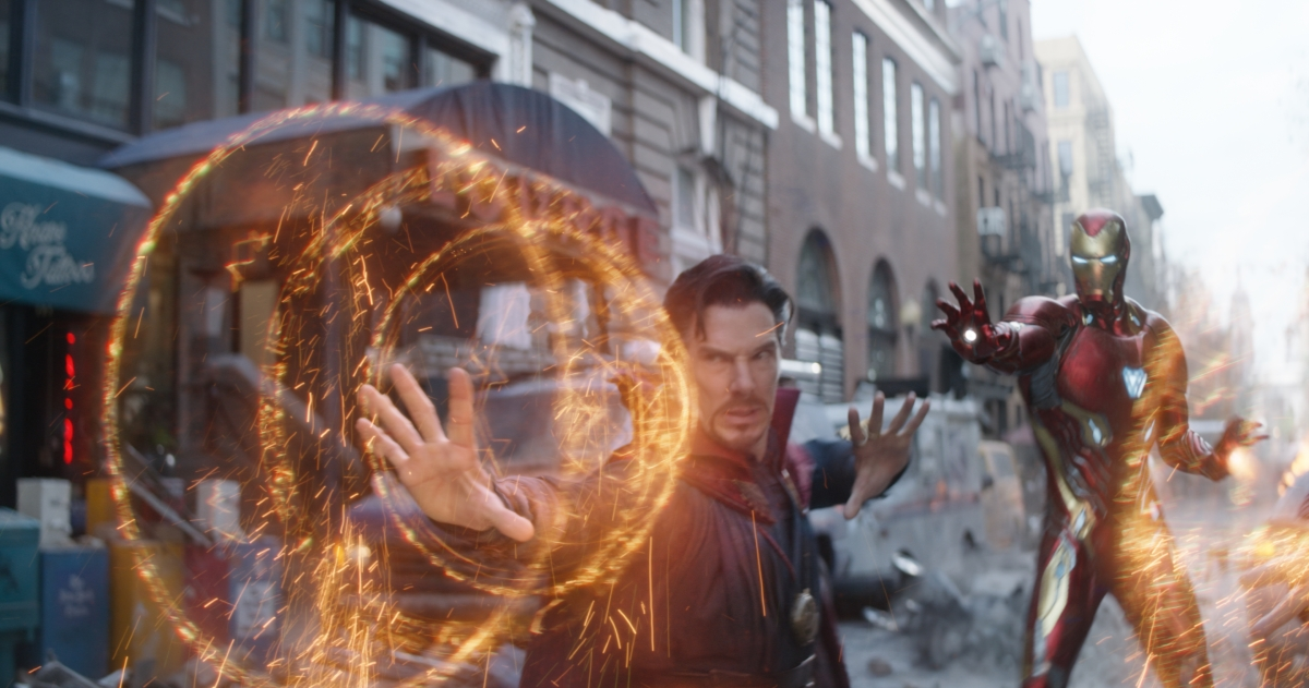 doctor strange and iron man in avengers infinity war p01 Avengers: Infinity War is fun, silly and incredibly dark