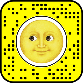 snapcode Fly Me To The Moon with Snapchat AR Lens