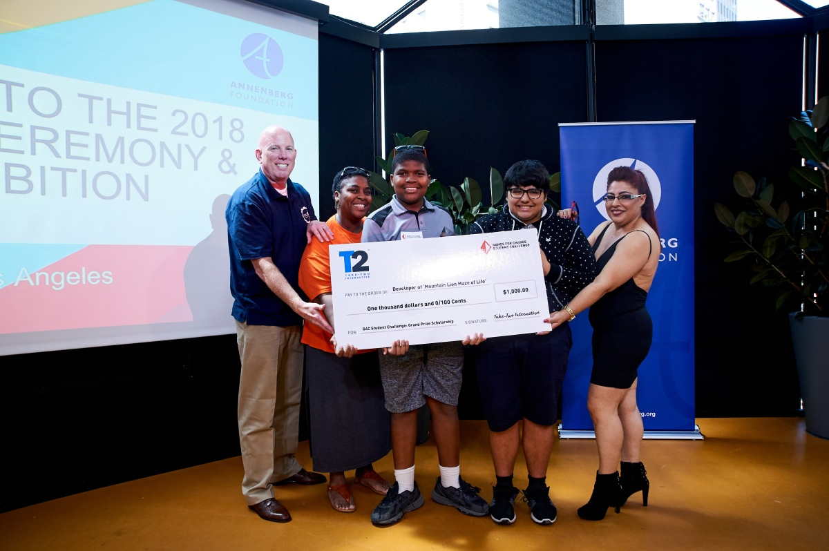 game change awards june2018 26 1 Games For Change at the LA Student Challenge