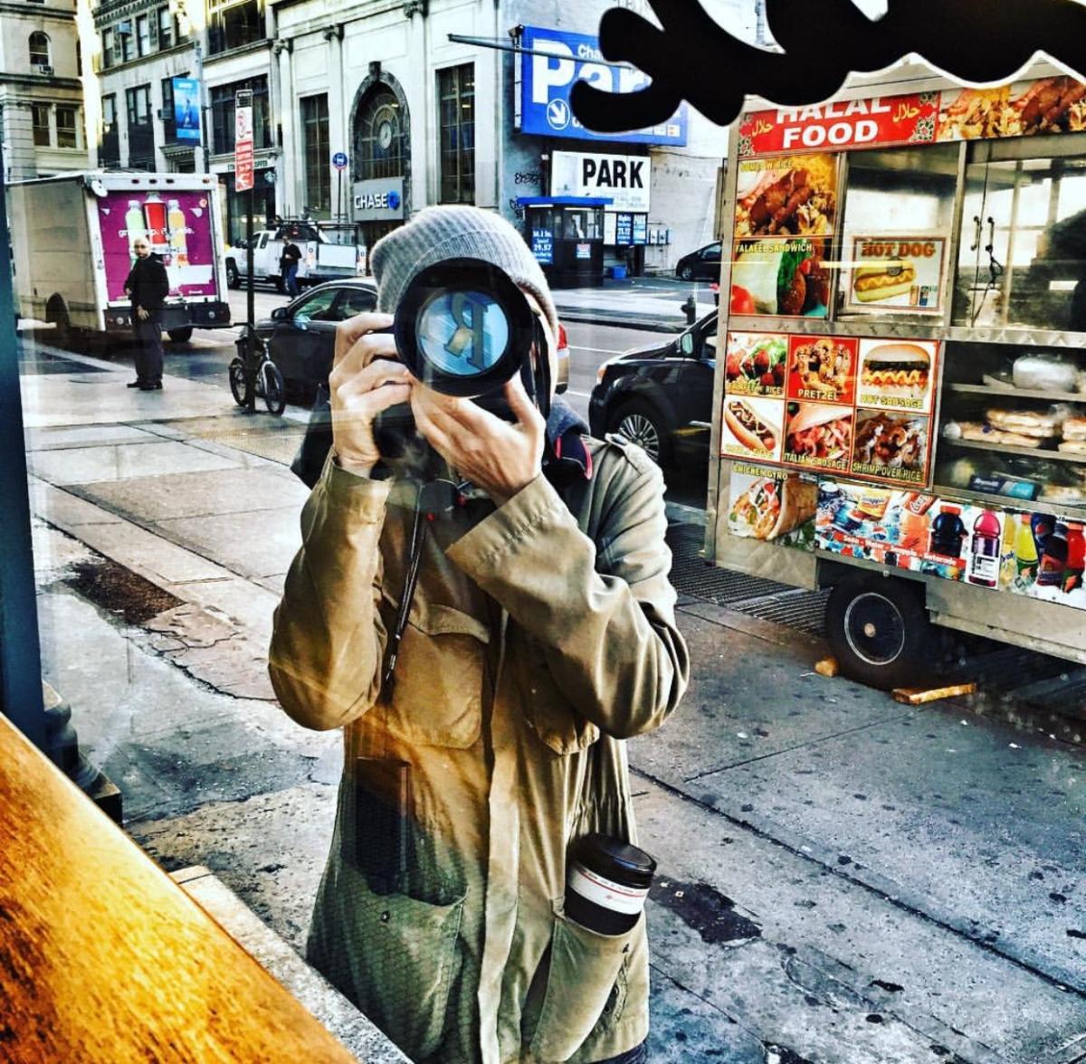 melanie street Scenes Behind the Lens: Melanie Dunea