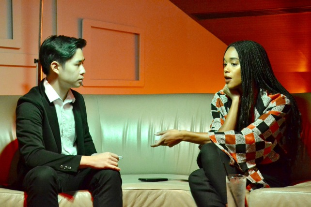 img 1999 Laura Harrier and Topher Grace from BlacKkKlansman share their experience on this groundbreaking film