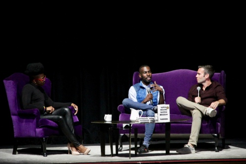 img 5783 DeRay Mckesson discusses activism, optimism and his new book at L.A. Times Ideas Exchange