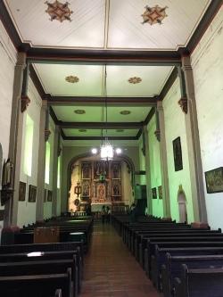 mission san gabriel inside church Visiting San Gabriel Mission