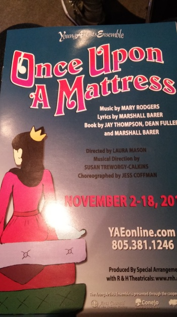 ouam 2 Once Upon a Mattress — a musical review