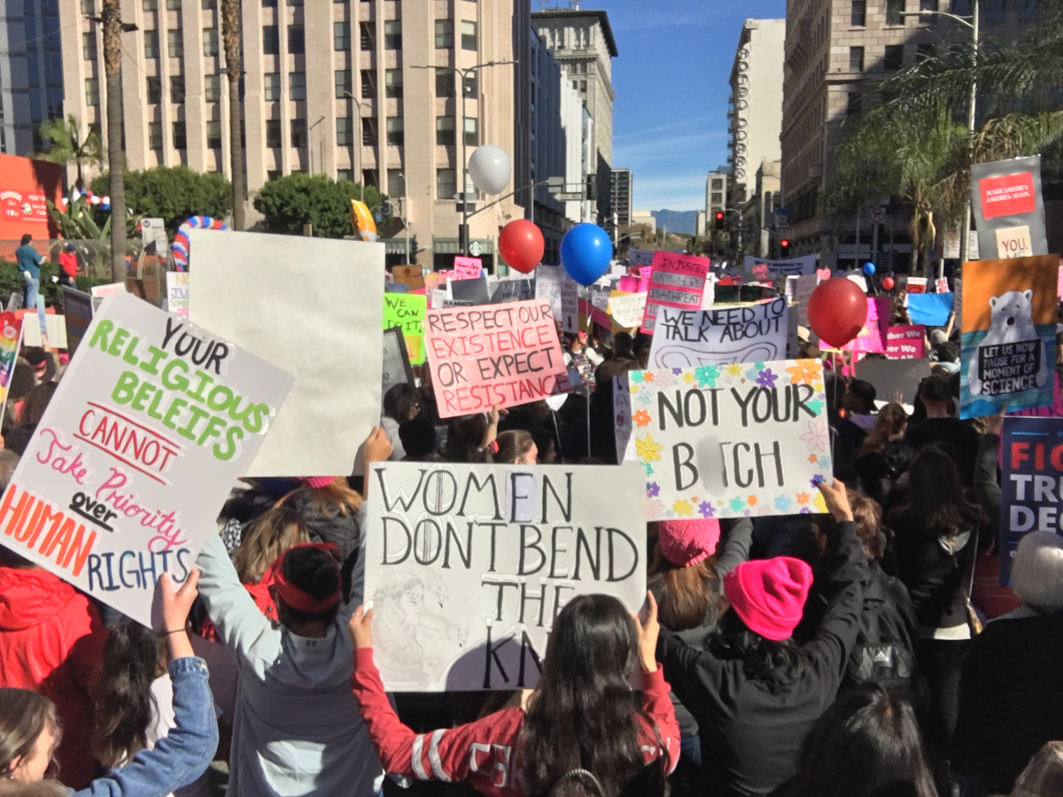 1548043943191 Los Angeles Womens March: Truth to Power