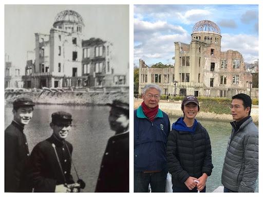 6  a bombdome In living memory: Norimitsu Tosu, 76 year old hibakusha