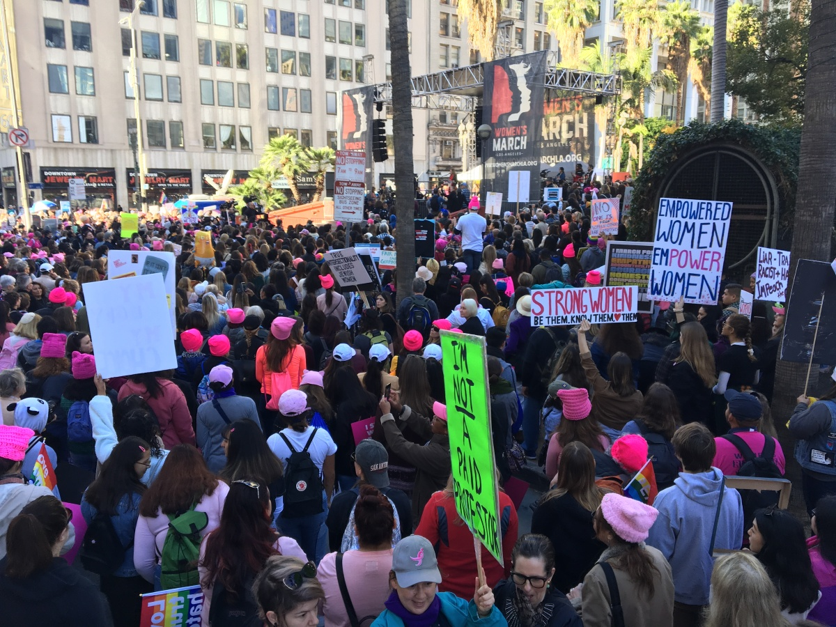 img 5981 Los Angeles Womens March: Truth to Power