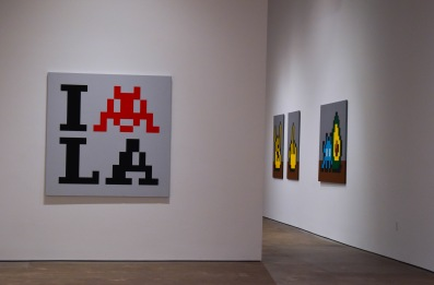 invader museum Invader invades Los Angeles with street art and his exhibit Into the White Cube