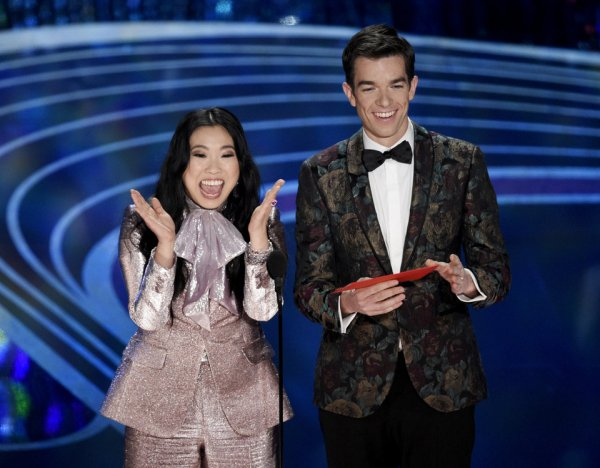 awkwafina and john mulaney academy awards Opinion: What the 91st Academy Awards meant for Hollywood diversity