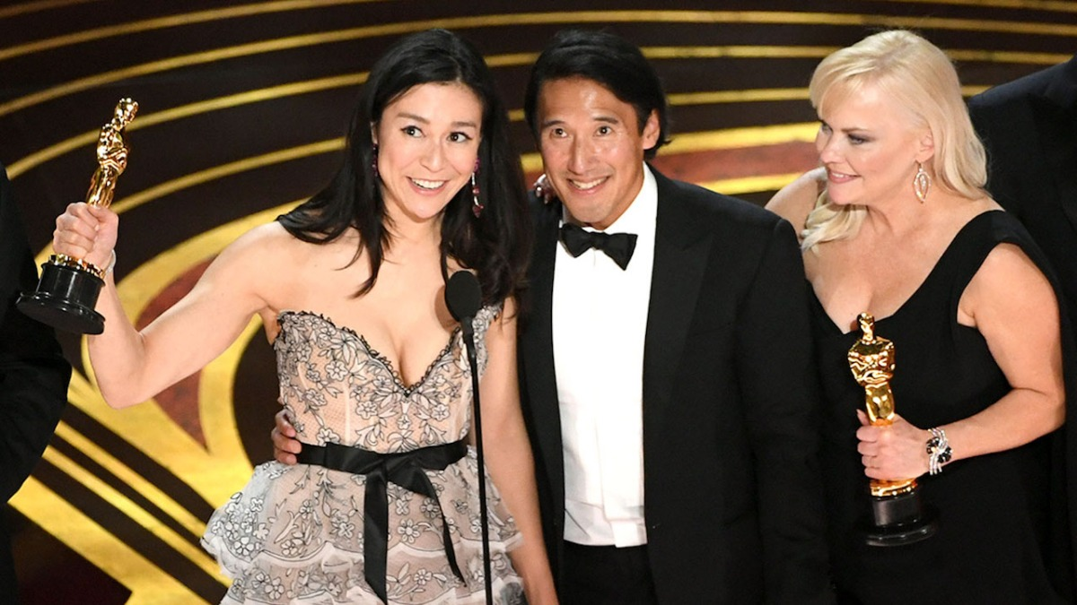 elizabeth chai vasarhelyi jimmy chin and shannon dill 91st annual academy awards Opinion: What the 91st Academy Awards meant for Hollywood diversity