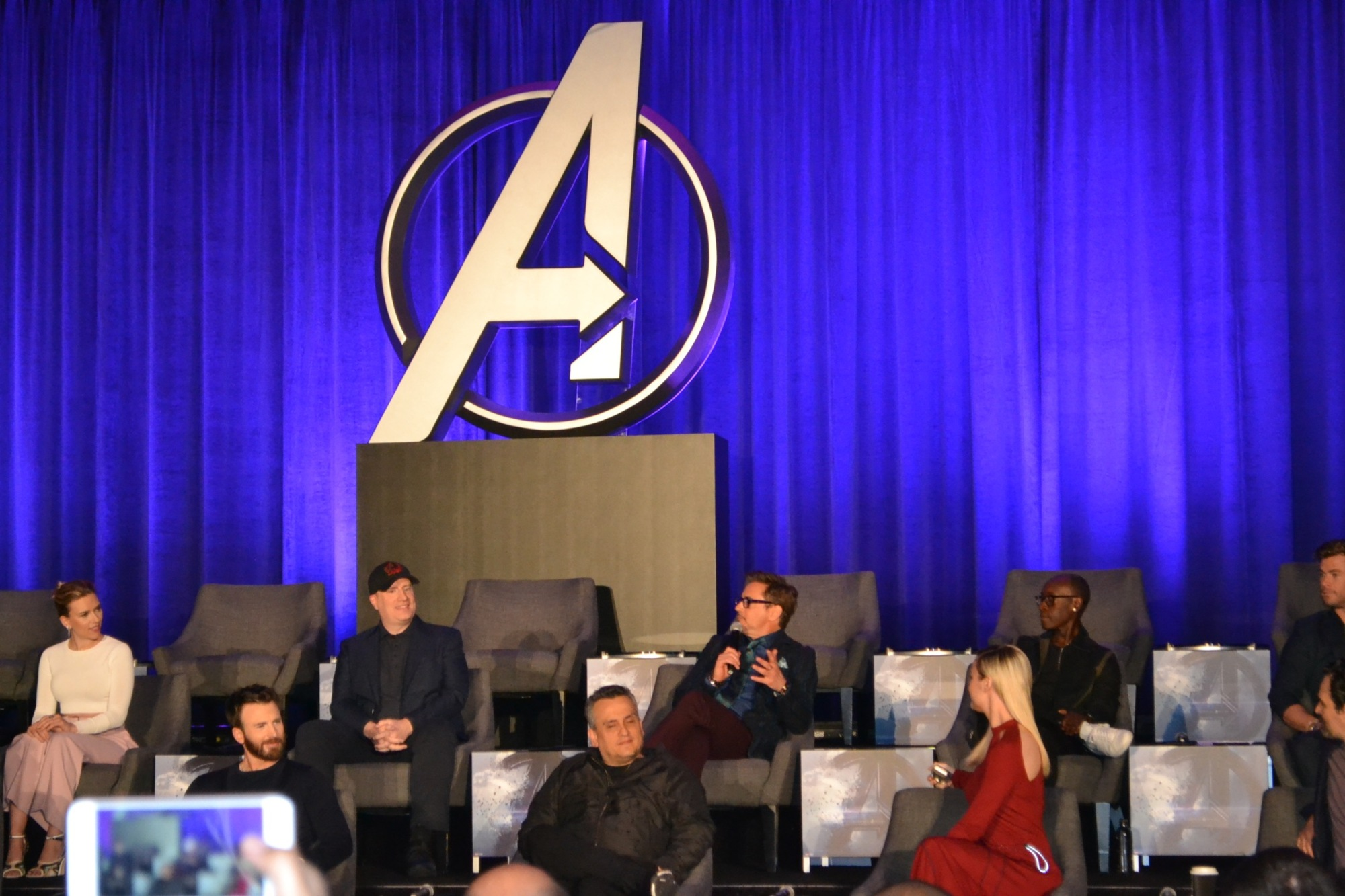 dsc 0523 Avengers: Endgame casts thoughts on the Marvel Cinematic Universes grand mosaic