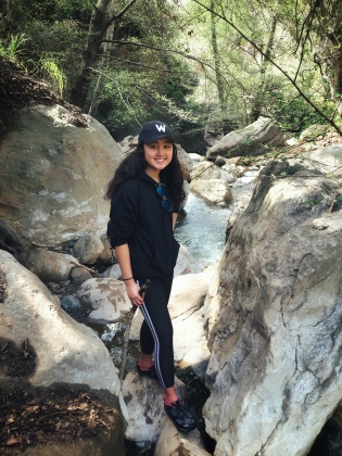 maggie pic Orange Lutheran senior Maggie Lins mission to lead a sustainable living trend