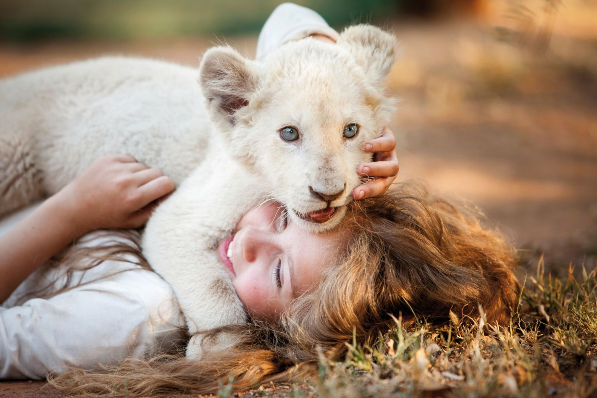 Daniah De Villiers, a breakout teenage actress in Mia and the White Lion