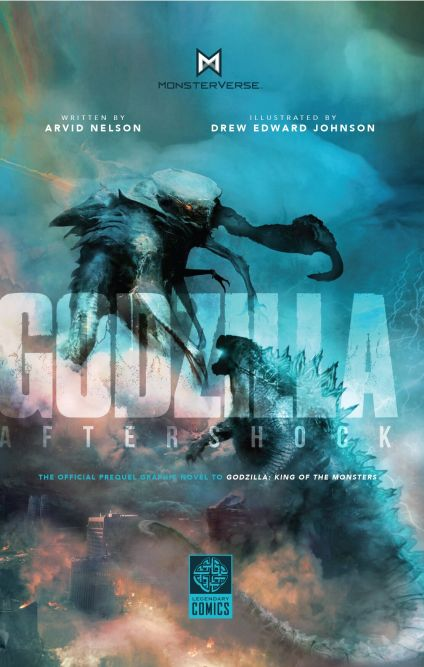 Godzilla: Aftershock: Graphic novel prequel to anticipated summer blockbuster