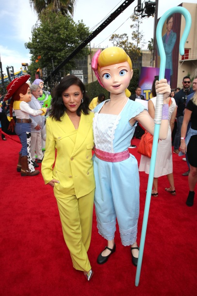 775350732sh00002 the world  Ally Maki as Giggle McDimples in the long awaited film Toy Story 4